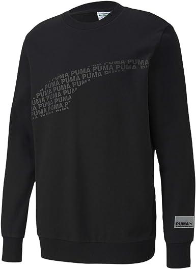 Puma - Tela de algodón negro con estampados negros negra XS ...