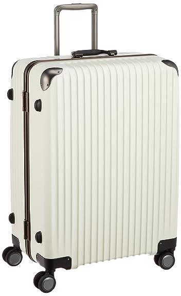 ddb5bb055a Amazon   [カーゴ] スーツケース ハードキャリー フレーム TW72 100L 5.4kg 双輪消音キャスター TSAロータリーロック  保証付 72 cm 5.4 kg アイボリー   スーツケース