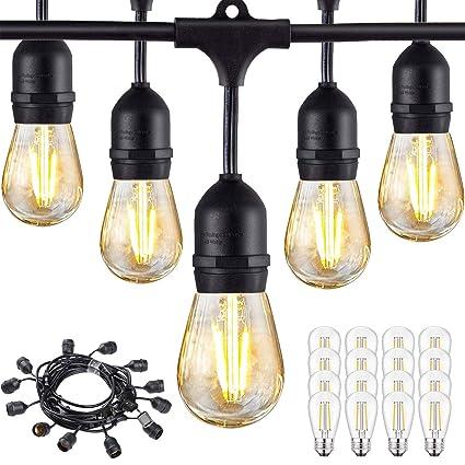 Amazon.com: Brilltshow - Cadena de luces LED de 48 pies ...
