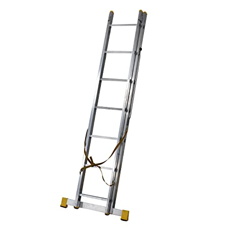313m 2 Section Extension Ladder Ladders With Integral Stabiliser Amazoncouk DIY Tools