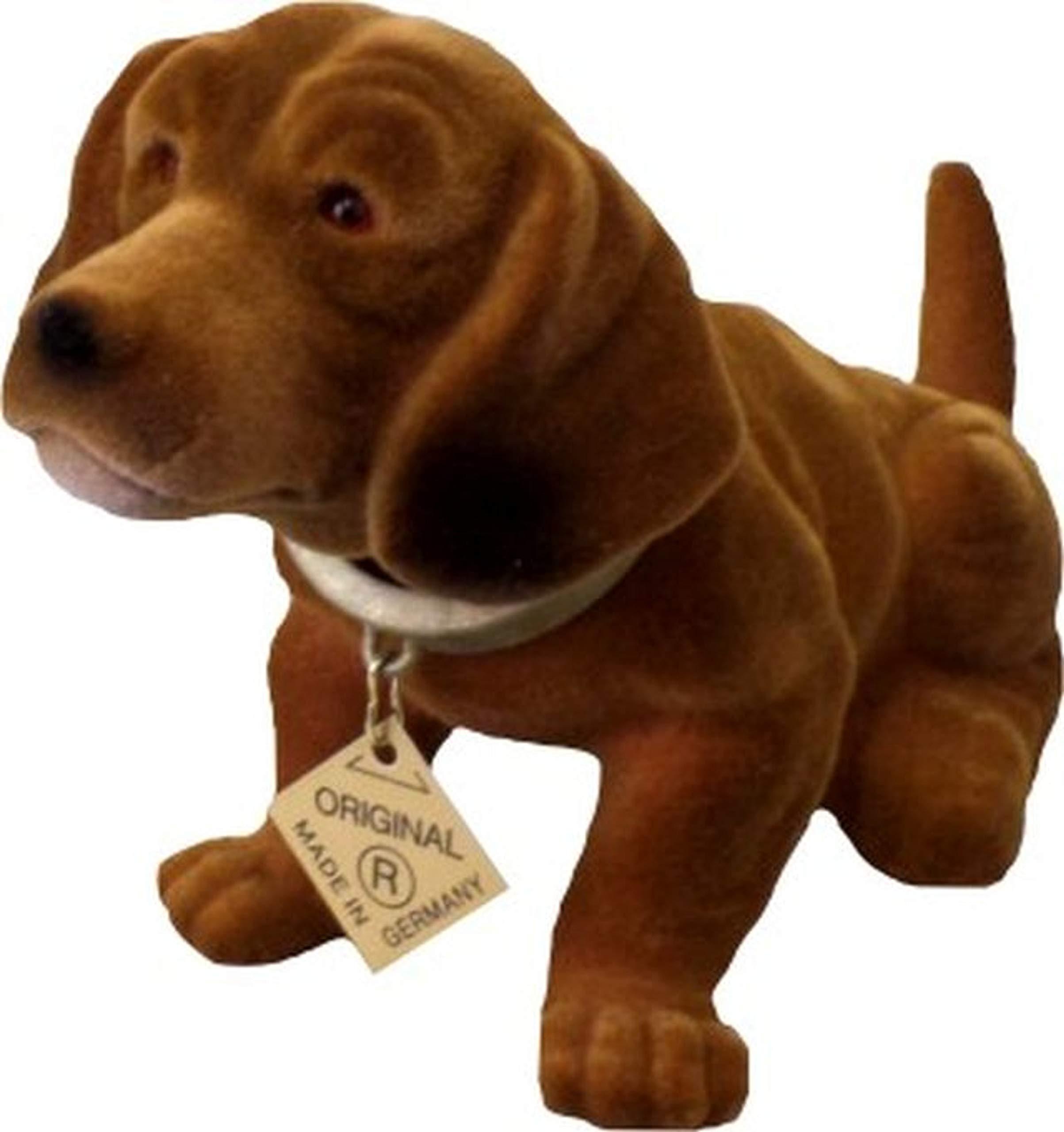 Original Wackeldackel Dog Made in Germany Bubblehead Dachshund 19 cm
