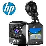 """HP Dash Cam Telecamera per Auto Full HD 1080P Car Dvr Camera G-Sensor Registrazione in Loop Visione Notturna e 2,4"""" Schermo LCD"""