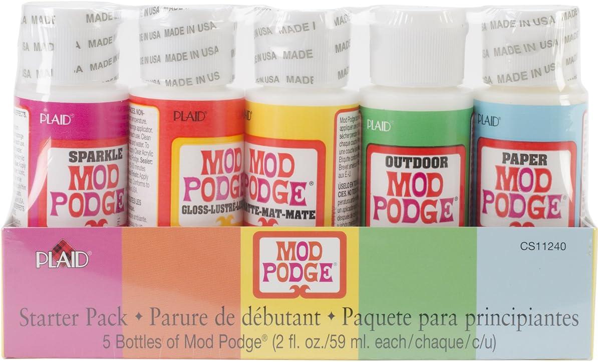 Mod Podge Sealer and Finish, 2 Ounce Bottle, Set of 5