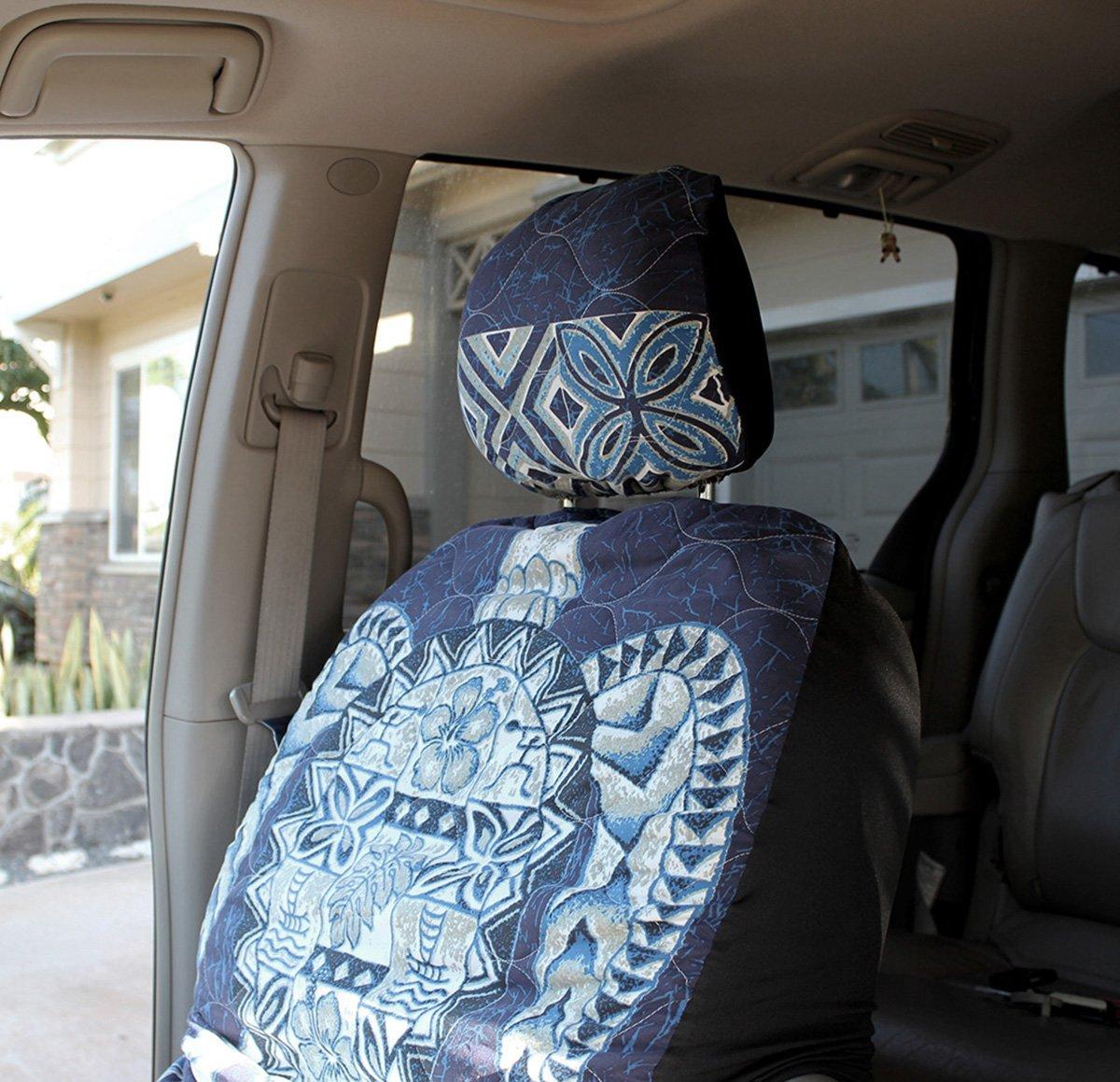 Amazon hawaiian car seat covers with separated headrest blue amazon hawaiian car seat covers with separated headrest blue big turtle set of 2 front bucket seat covers made in hawaii automotive izmirmasajfo Choice Image