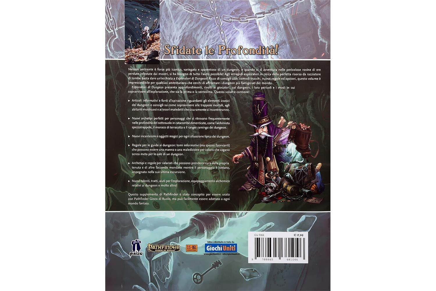 Amazon.com: Giochi Uniti Pathfinder Role Play: Dungeon ...