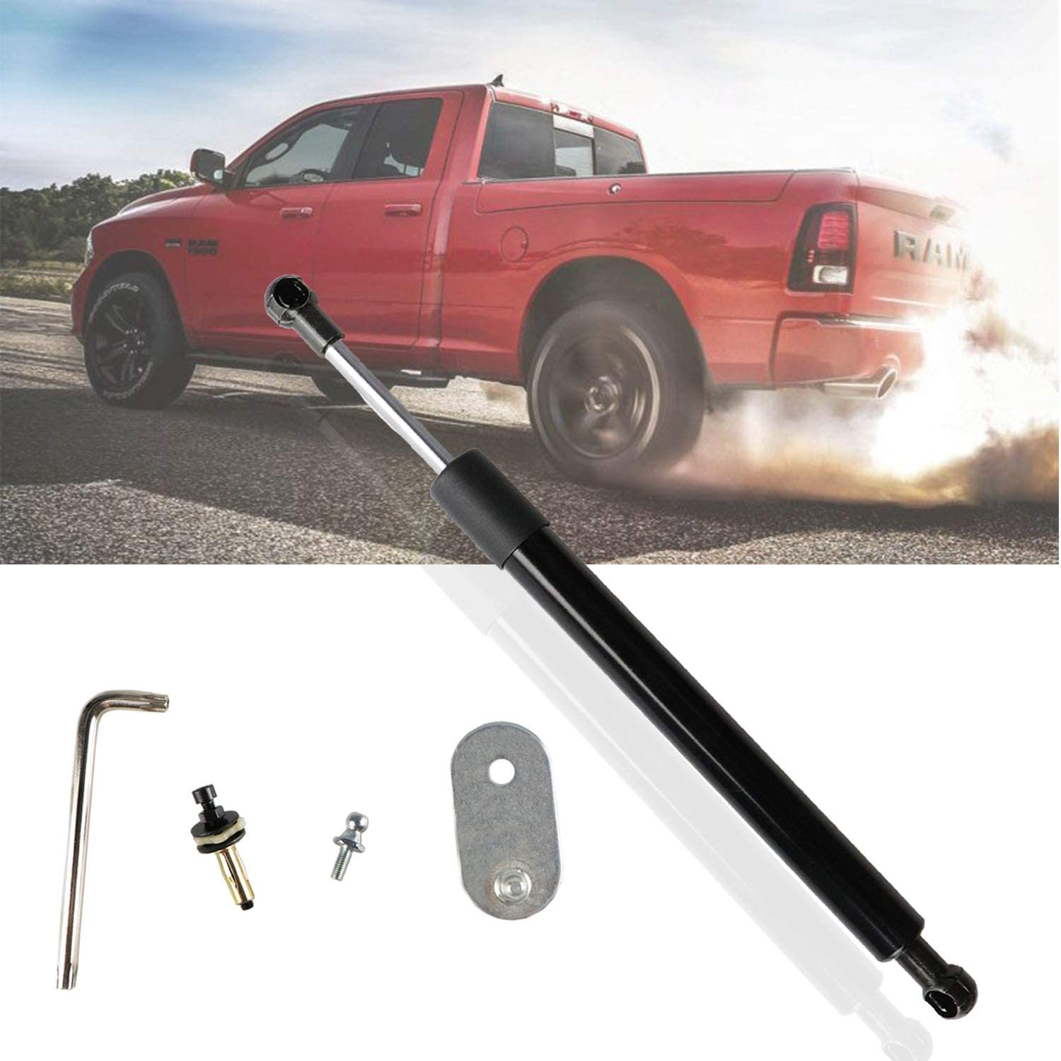 2006-2008 Lincoln Mark LT DZ43200. Truck Tailgate Assist Shock Fit for 2004-2014 Ford F150