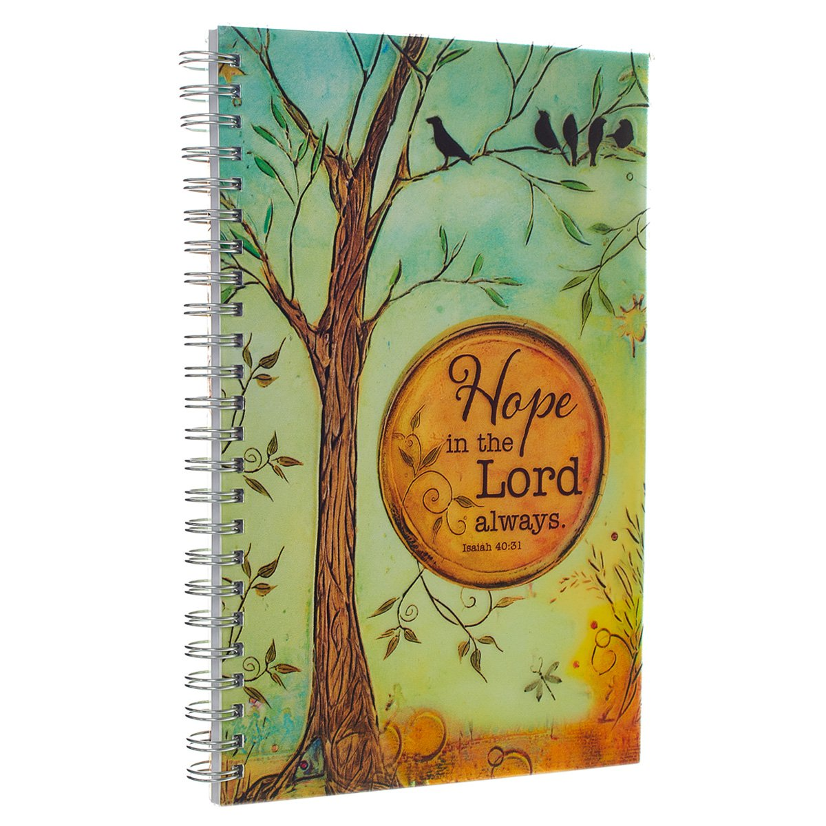 Printed Cover Wirebound Journal Notebook