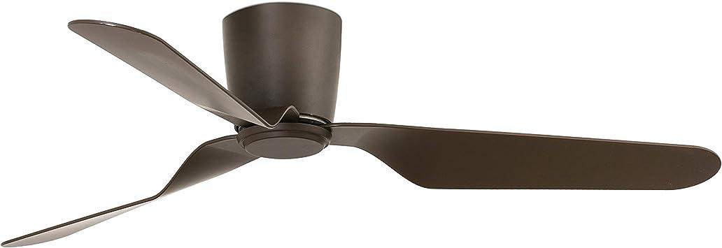 FARO BARCELONA 33492 - PEMBA Ventilador de Techo marrón con Motor ...
