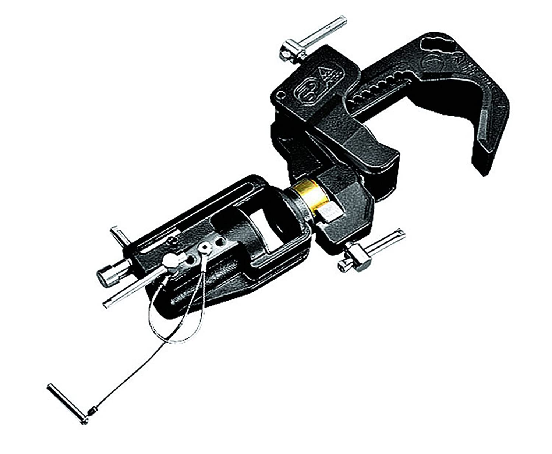 AVENGER スベリングCクランプ ブラック C150   B0014E5MTK