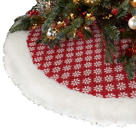 KIACIYA Falda de Árbol de Navidad, Alfombra Navidad Árbol Suave ...
