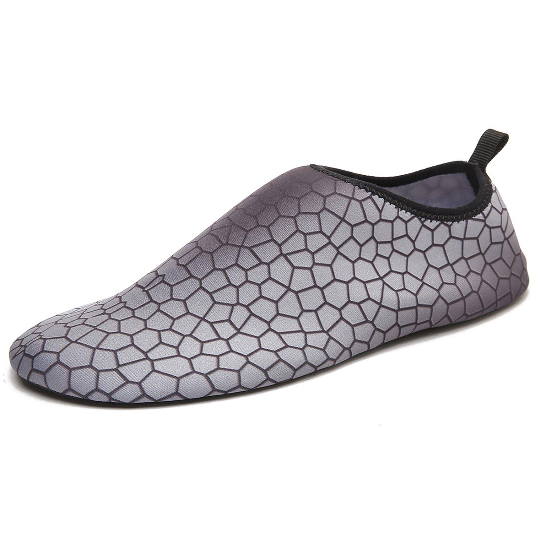 INvench Unisexes Quickdry Barefoot Chaussures Aquatiques - Chaussettes Aqua LéGèRes Et AgréAbles à La Peau pour La Plage Surf Surf Yoga Exercice