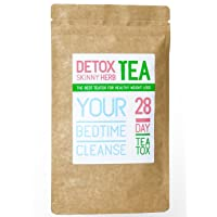 28 Days Bedtime Cleanse Tea: Detox Skinny Herb Tea - Effective Detox Tea, Body Cleanse...