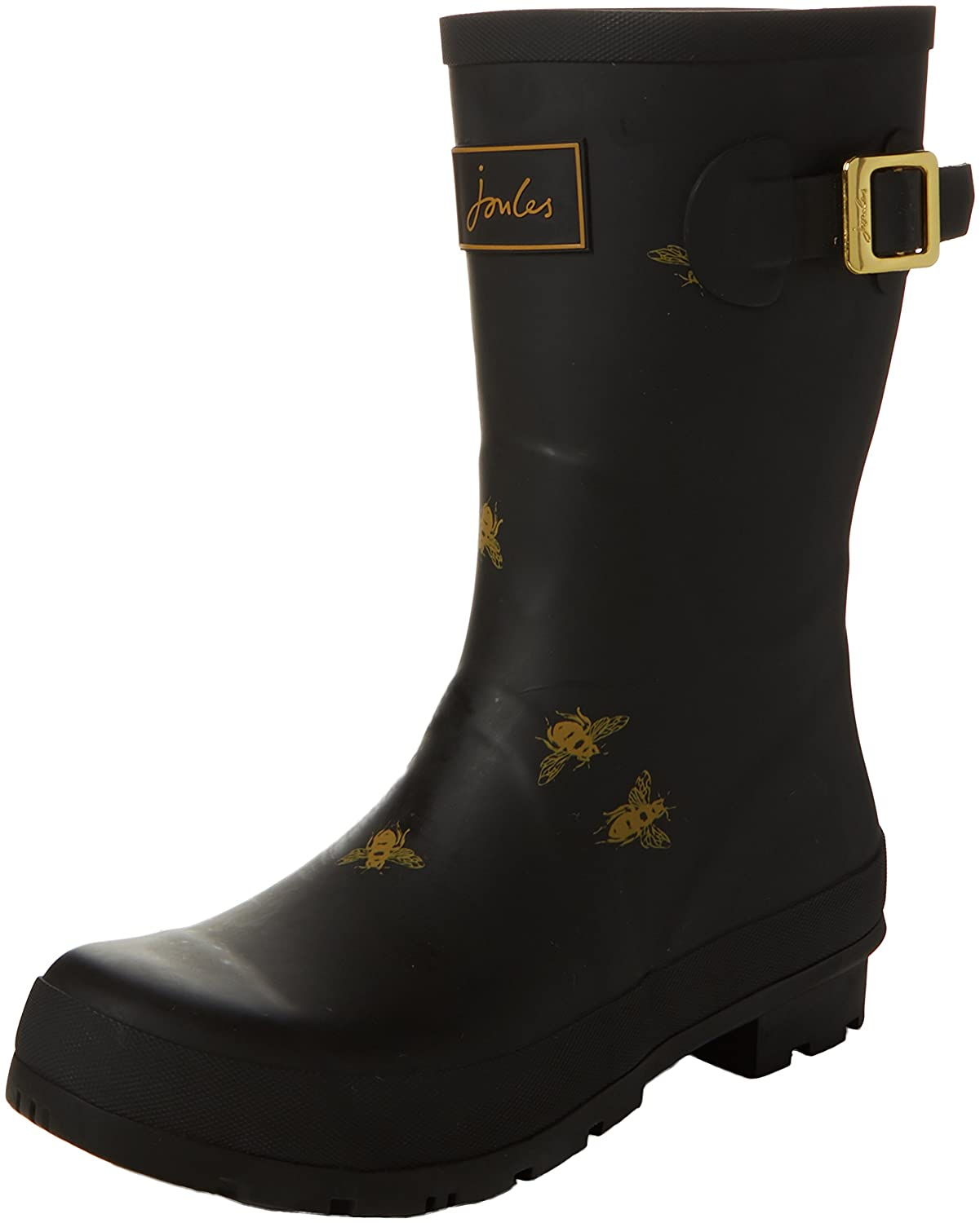 Joules Women's Molly Welly Rain Boot B06XGX6X57 10 B(M) US|Black Bees