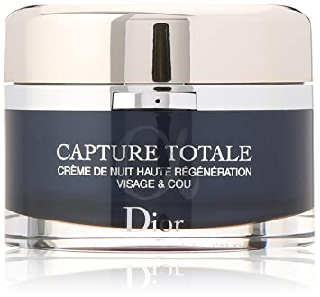 Christian Dior Dior Capture Totale Nuit Intensive Restorative Night Creme Med Cleansing Cream 0.70 Ounces