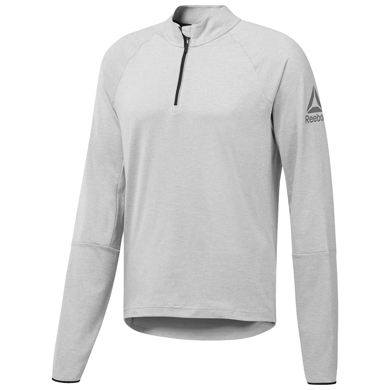 Reebok LS Quarter Zip Sweatshirt, Herren