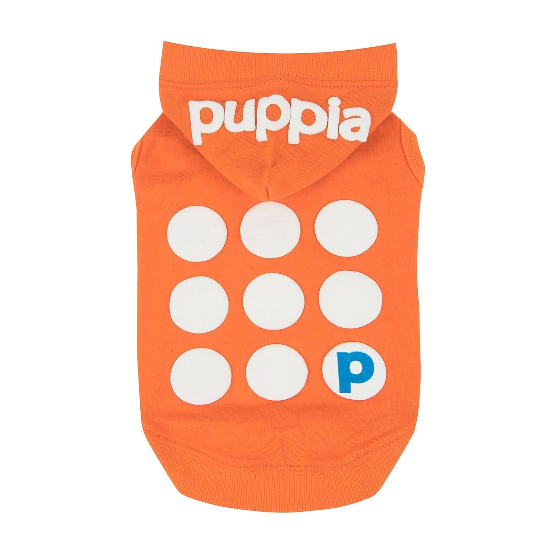 Puppia PARA-TS1509-OR-XS orange Emmy Pet-Hoodies, X-Small