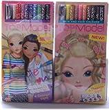 Bundle Buy TopModel - Top Model Skin & Hair 12 Pencil Set & Top Model Coloured 12 Pencil Set