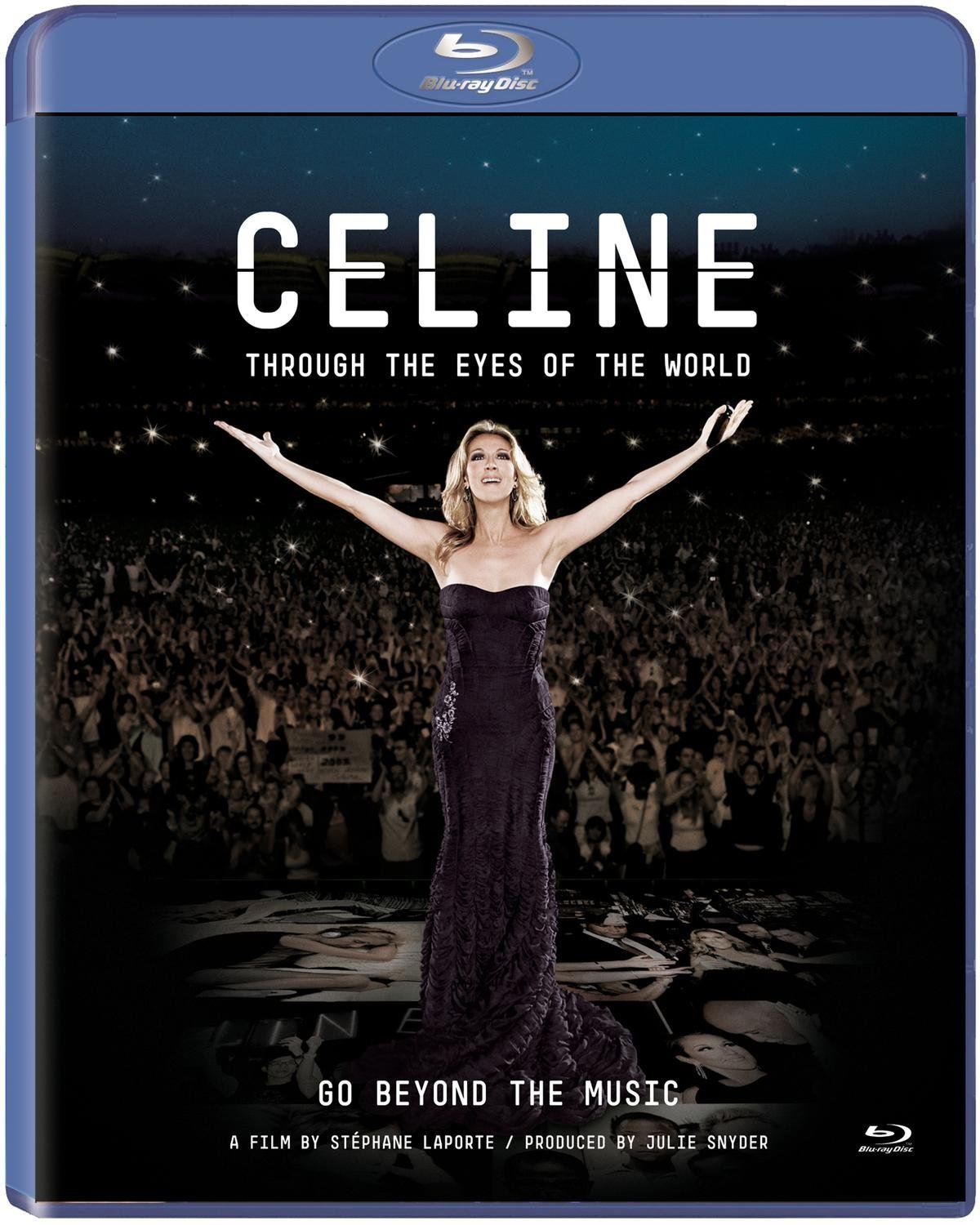 Blu-ray : Celine Dion - Celine: Through the Eyes of the World (Blu-ray)