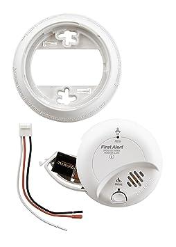 Amazoncom First Alert BRK SC9120B rzYgPK Hardwired Smoke and