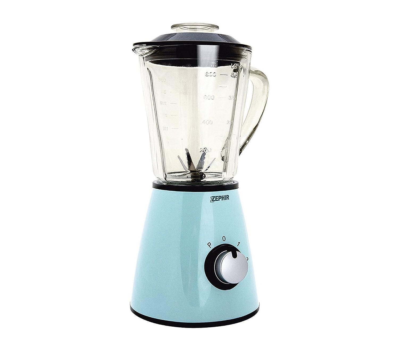 ZHC489 Licuadora eléctrica vintage ZEPHIR jarra de vidrio 1 litro 500 vatios - Crema: Amazon.es: Hogar