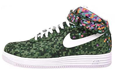watch 0ad74 ce8ac Nike Lunar Force 1 Mid Jacquard JCRD SP Rio 693208-331 Pine Green Men s  Shoes
