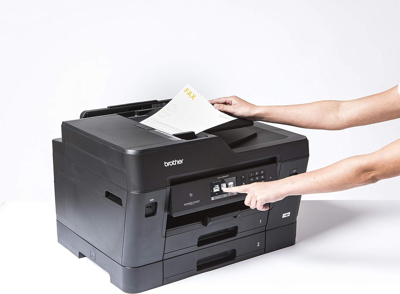 Plateau Multifonction et NFC Double Plateau Fonction Double Face pour Toutes Les Fonctions fax Brother MFC-J6930DW Imprimante Jet dencre Multifonction A4/et A3 Connexion Wi-FI