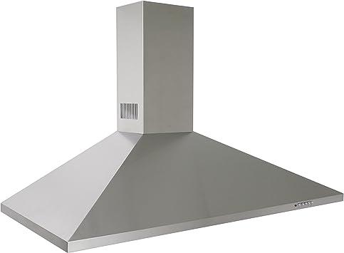 MyAppliances ART10918 110cm Deluxe Stainless Steel Chimney Cooker Hood Extractor in Stainless Steel, [Importado de UK]: Amazon.es: Electrónica