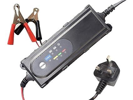 Veko - Cargador de batería Inteligente Totalmente automático, para ...