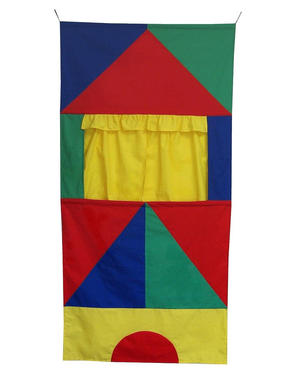 ABA 75 x 150 x 1 cm Theatre Blocks Toy (Multi-Colour) 71223
