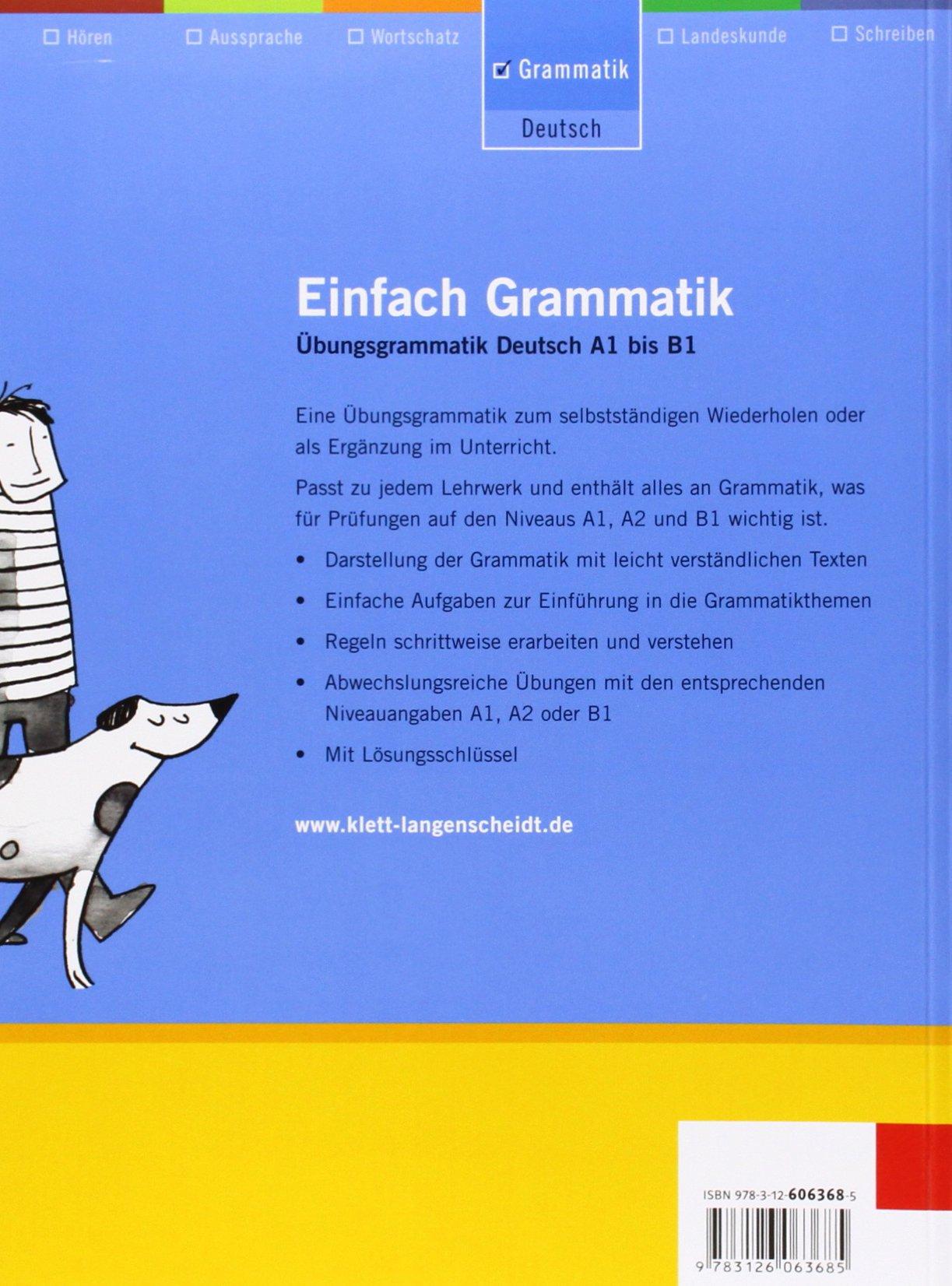 EINFACH GRAMMATIK A1 BIS B1 DOWNLOAD