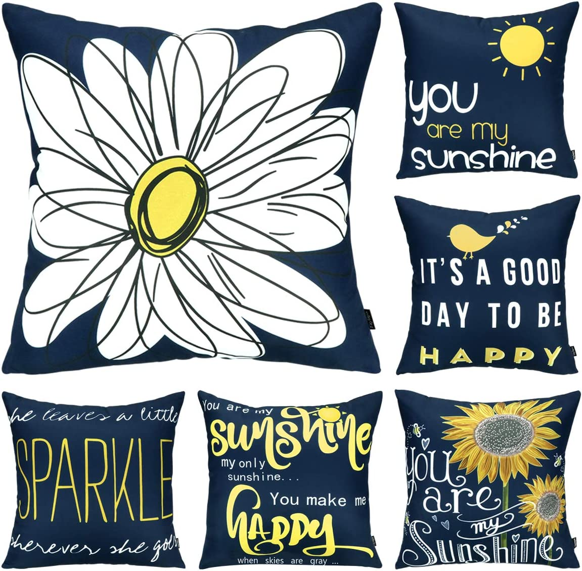 My Sunshine Pillow Cases,Cheery Quote