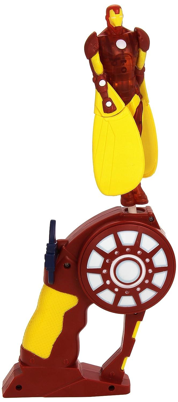 Figura Iron Man con luz Flying Heroes Bandai 52385