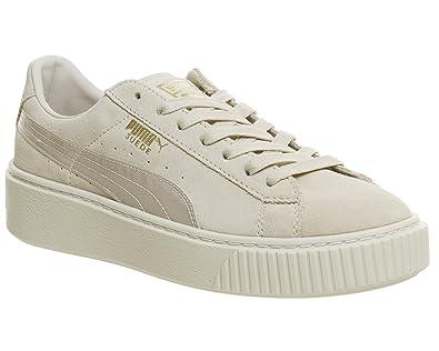 quality design 5172c 6a543 Puma Damen Sneakers Suede Platform Mono Satin: Amazon.de ...