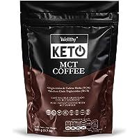 MCT COFFEE (350 g/0.7 lb) LIBRE DE ACEITE DE PALMA, Ideal para dietas KETO y Paleo, MÁS DEL +95% EN C8 y C10, perfecto para tu café y batidos. GLUTEN FREE, NATURAL, VEGAN, SUGAR FREE, NON GMO, DAIRY FREE.