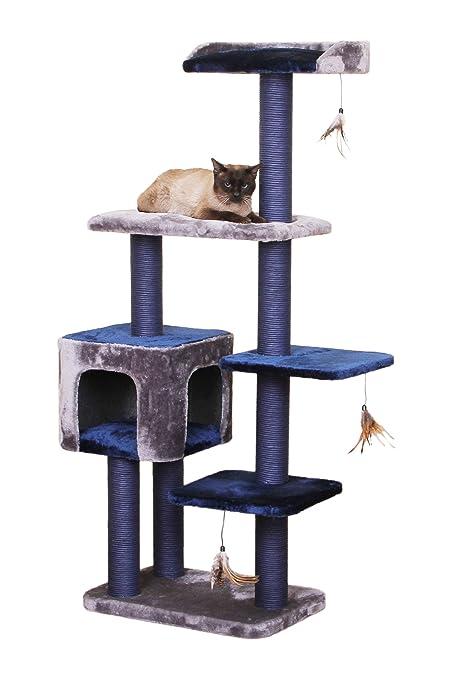 Midnight Molly   PetPals PP5469 2016 Play House Cat Tree, 23u0026quot; X 15u0026quot