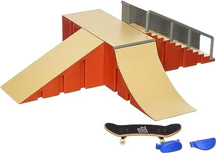 Amazon Com Tech Deck S Kit De Iniciacion M04 Gbl Obtener Original Pro Cubiertas Que Montan Por Su Favorito Jinetes Multi Toys Games
