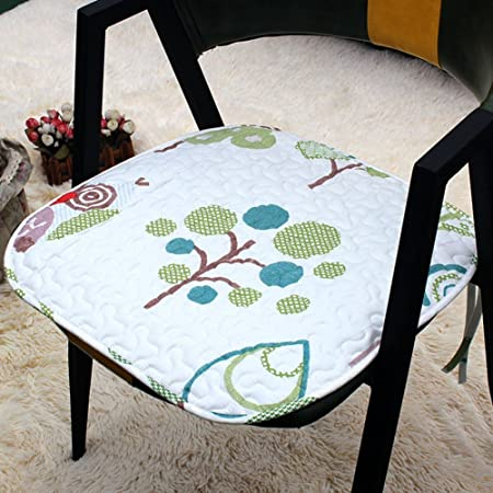 04e8b4ee85e ZHAS Cotton seat cushion slip-resistant spring student cush ion universal  communities office chair fabric pads   20-H20  Amazon.co.uk  Kitchen   Home