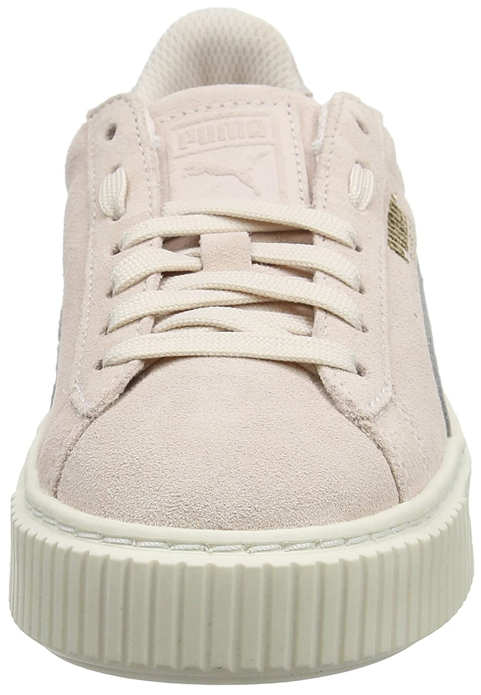 6e1f7123b6b0 Puma Unisex-Kinder Suede Platform SNK Jr Sneaker  Amazon.de  Schuhe    Handtaschen