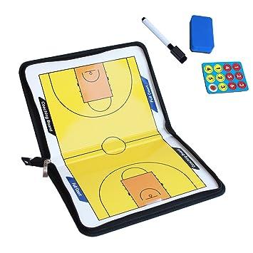 amhii entrenador portapapeles baloncesto con lápiz y ...