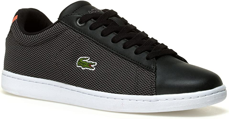 lacoste black shoes womens - 54% OFF