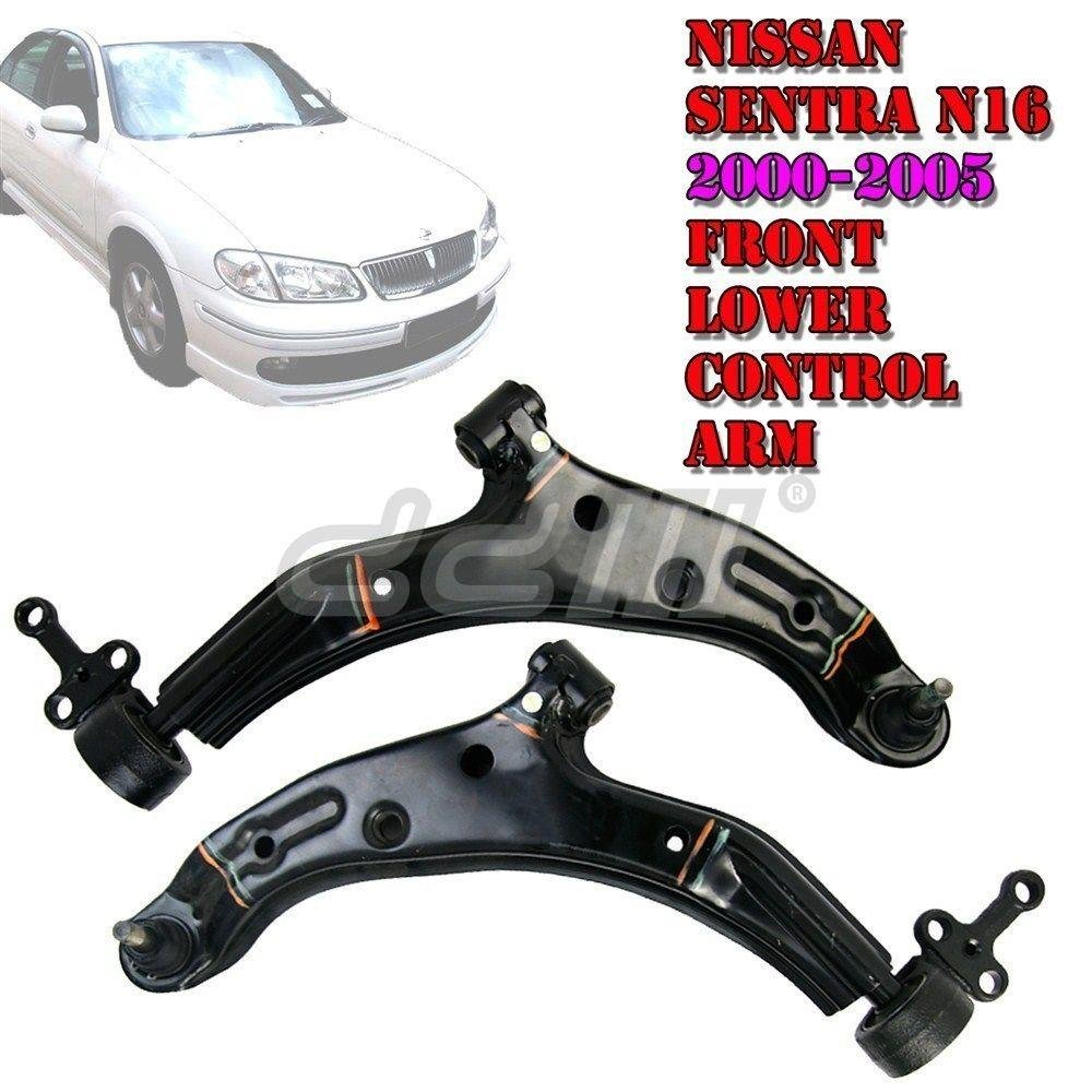 Amazon.com: Front Lower Arm Control Arms Fit Nissan Pulsar/Sentra N16 00-05  1 Pair: Automotive