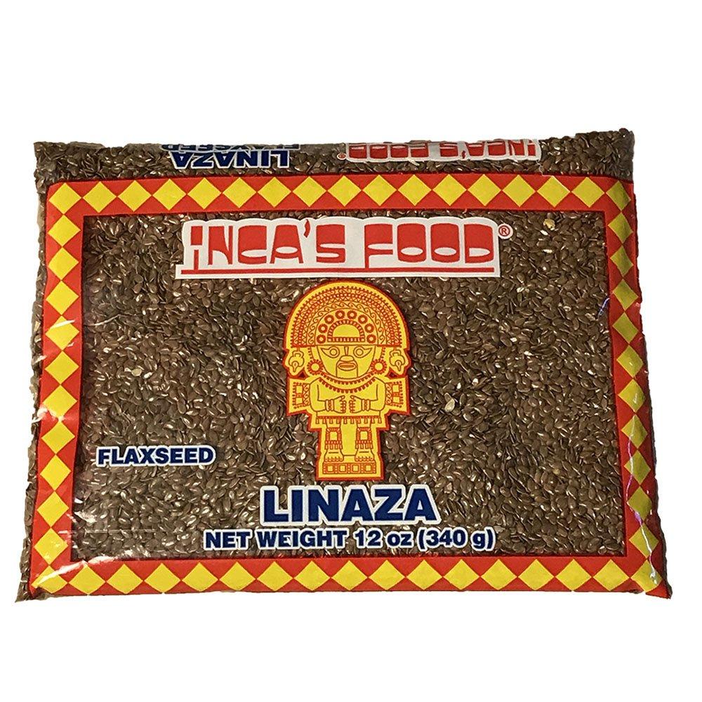 Inca's Food LinazaFlaxseed (Linseed) Product of Peru 12oz