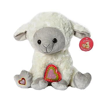 Amazon Com My Baby S Heartbeat Bear Lamb Stuffed Animal W 20 Sec