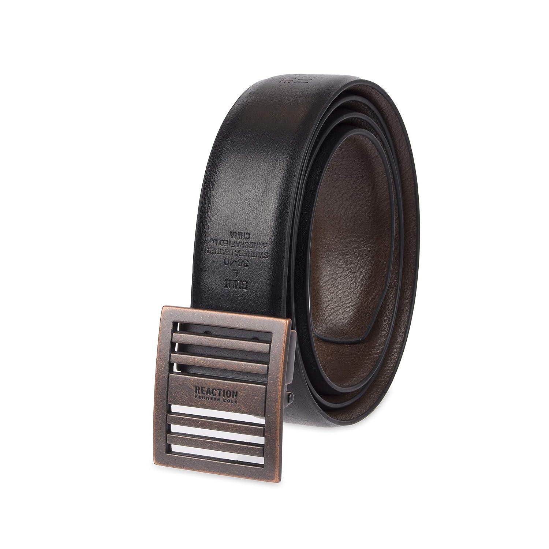 Wide Adjustable Compression Perfect Fit Slide Belt Kenneth Cole REACTION Mens 1.3 in
