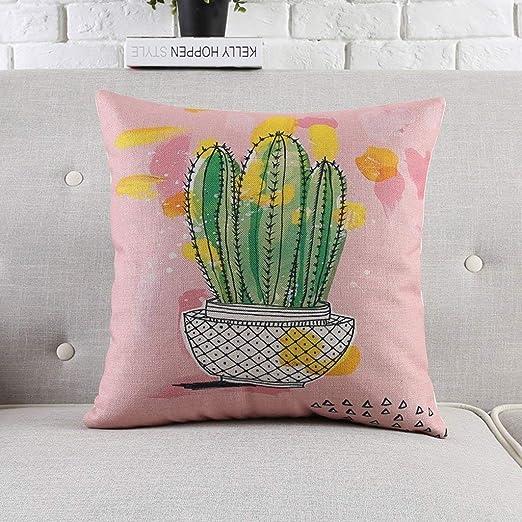 Fundas de Almohadas de diseño único Cactus de la Planta ...