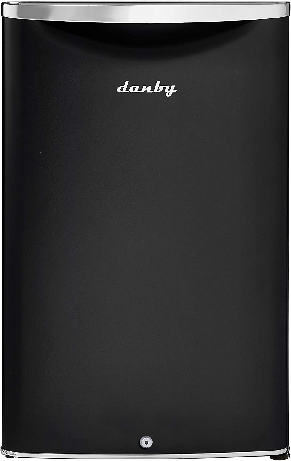 Danby DAR044A6MDB-6 Midnight Metallic Black 4.4 cu. ft. Contemporary Classic Compact Refrigerator