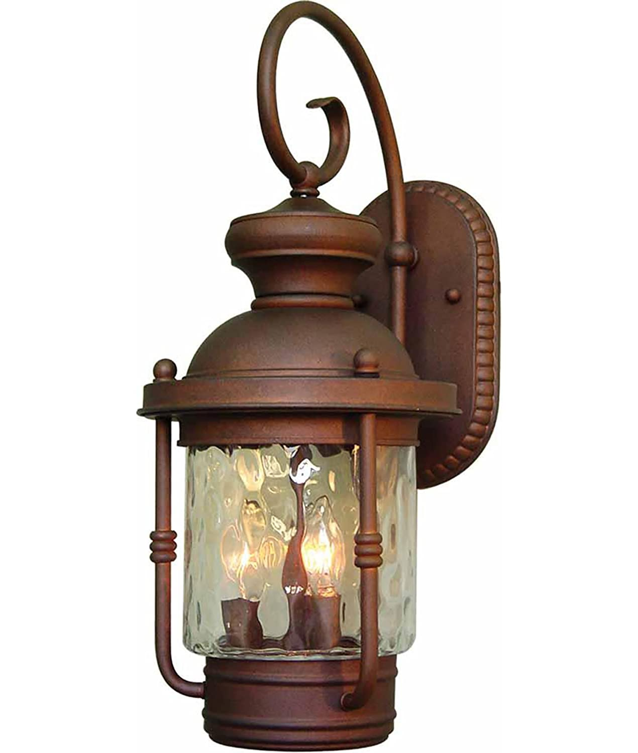 Volume Lighting V8151-42 Outdoor Decorative, Burnished Bronze Finish by Volume Lighting B0002ZQPZC