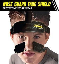 Bangerz HS-1500 Polycarbonate Nose Guard Face Shield