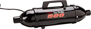 METROVAC Black Powder Coated High Performance Hand Vac with Turbo Driven Rotating Brush, 120-Volt