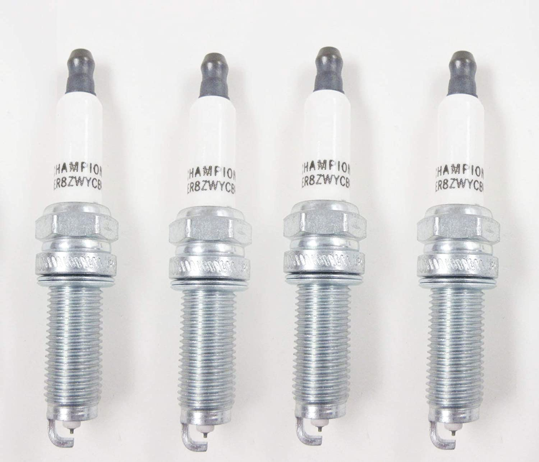 Champion 9407 RER8ZWYCB4 Iridium Spark Plug Pack Of 4